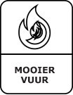 Mooier vuur symbool