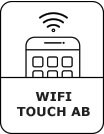 WIFI TOUCH symbool