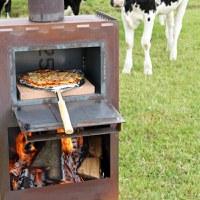 Nieuw: de buitenhaarden van het Friese merk Kaggels! Met pizzaoven!