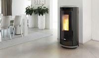 Nieuwe pelletkachel Aura van Nordic-Fire